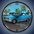 1966 Chevy Nova SS Wall Clock, LED Lighted