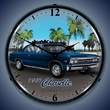 1967 Chevelle Wall Clock, LED Lighted