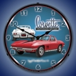 1967 Corvette Stingray LED Lighted Clock