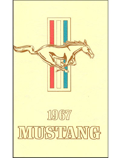 1967 Ford Mustang Owner's Manual