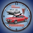 1967 Pontiac Firebird LED Lighted Clock