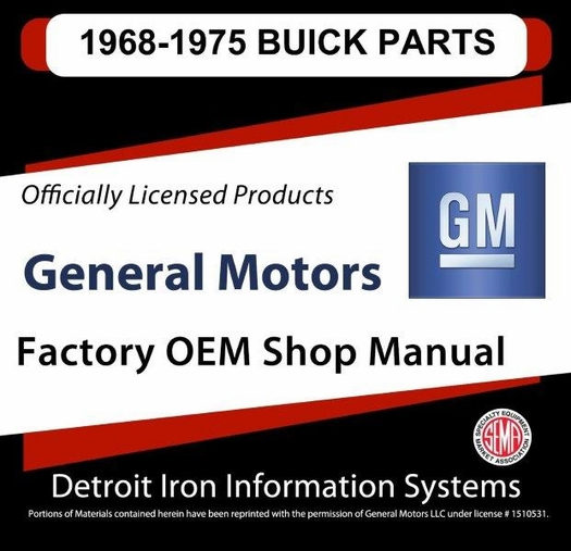 1968 1975 buick parts manuals only on 3 cds pdf format rh themotorbookstore com 2005 buick rendezvous parts manual buick enclave parts manual