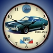 1968 AMX Wall Clock, LED Lighted