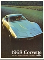 1968 Chevrolet Corvette Stingray Sales Brochure