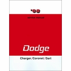 1968 Dodge Charger, Coronet, Dart Service Manual