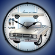 1968 Dodge Dart Wall Clock, LED Lighted