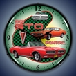 1968 GTO LED Lighted Clock