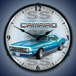 1968 SS Camaro Wall Clock, Lighted