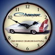 1969 Dodge Charger Daytona Wall Clock, LED Lighted