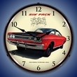 1969 Dodge Super Bee Wall Clock, LED Lighted