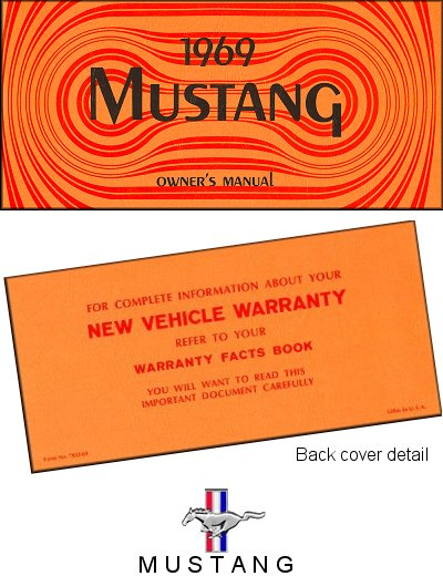 1969 Ford Mustang Owner's Manual