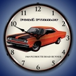 1969 Plymouth Road Runner Wall Clock, LED Lighted