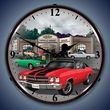 1970 Chevelle Wall Clock, LED Lighted