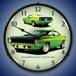 1970 Plymouth AAR Cuda Wall Clock, LED Lighted
