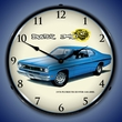 1970 Plymouth Duster 340 4BBL Wall Clock, LED Lighted
