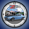 1970 Z28 Camaro Mobilgas Wall Clock, Lighted
