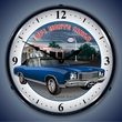 1971 Chevy Monte Carlo Wall Clock, LED Lighted, Esso
