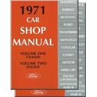 1971 Ford, Lincoln, Mercury Car Shop Manual (5 Vol Set)
