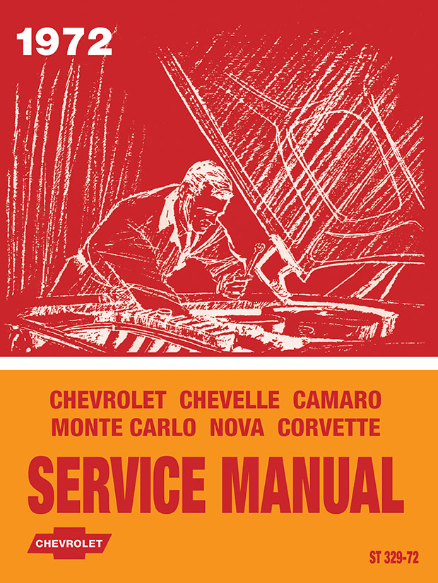 1972 Chevrolet Service Manual