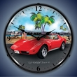 1973 Corvette LED Lighted Clock