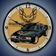 1977 Pontiac Firebird LED Lighted Clock
