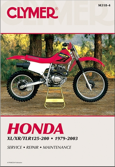 honda xl125 xl185 xl200 xr185 xr200 repair manual 1979 2003 rh themotorbookstore com 2002 honda xr200 owners manual 2002 XR200 Specs