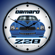 1979 Z28 Camaro Wall Clock, Lighted