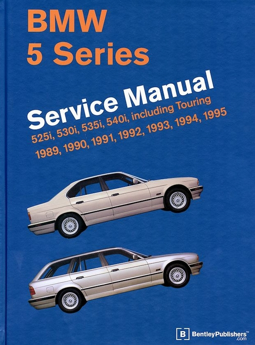 bmw 5 series e34 repair manual 525i 530i 535i 540i 1989 1995 rh themotorbookstore com BMW 7 Series E38 1994 BMW 7 Series E32