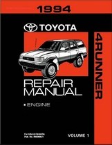 1994 Toyota 4Runner OEM Repair Manual
