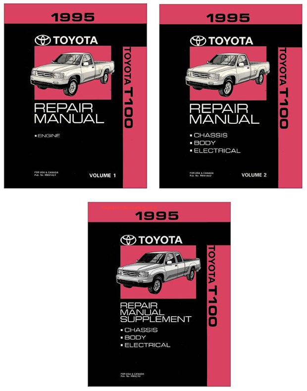 1995 Toyota T100 OEM Repair Manual