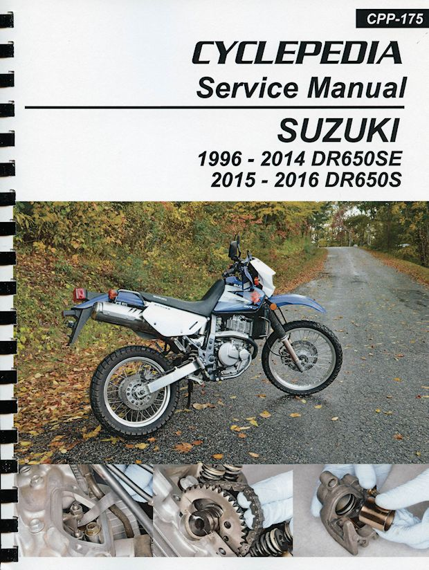 suzuki dr650se   dr650s service manual 1996 2016 seloc manuals free download 3400 seloc omc sterndrive manual