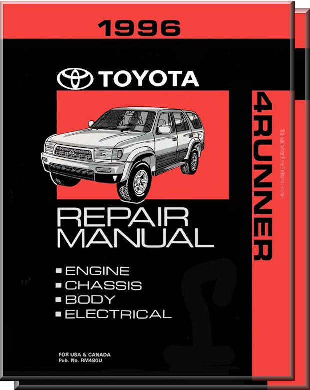 1996 Toyota 4Runner OEM Repair Manual