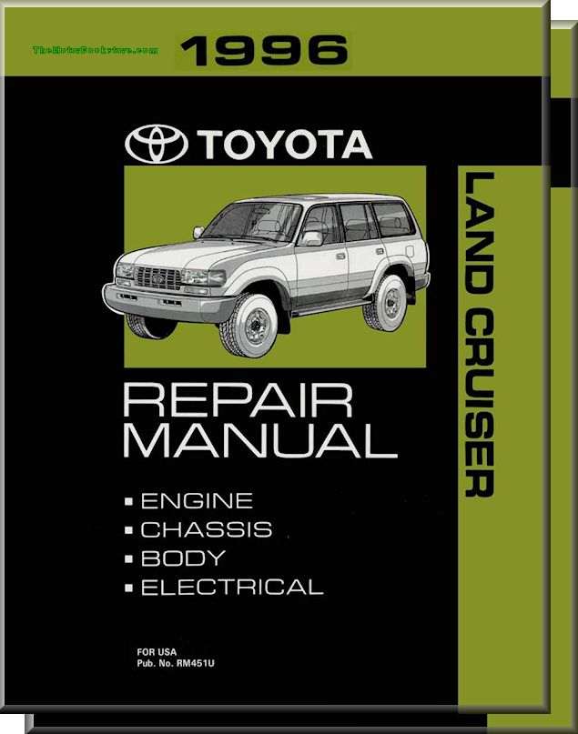 1996 Toyota Land Cruiser OEM Repair Manual