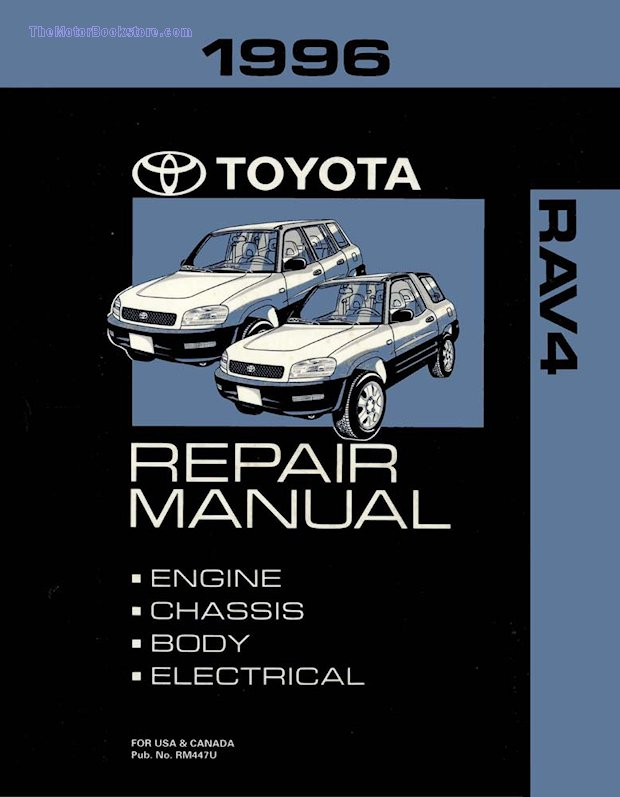 1996 Toyota RAV4 OEM Repair Manual
