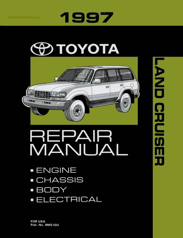 1997 Toyota Land Cruiser OEM Repair Manual