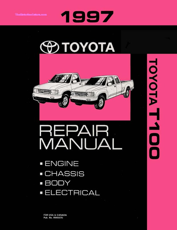 1997 Toyota T100 OEM Repair Manual