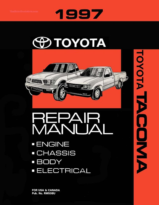 1997 Toyota Tacoma OEM Repair Manual