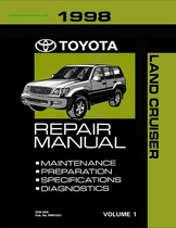1998 Toyota Land Cruiser OEM Repair Manual