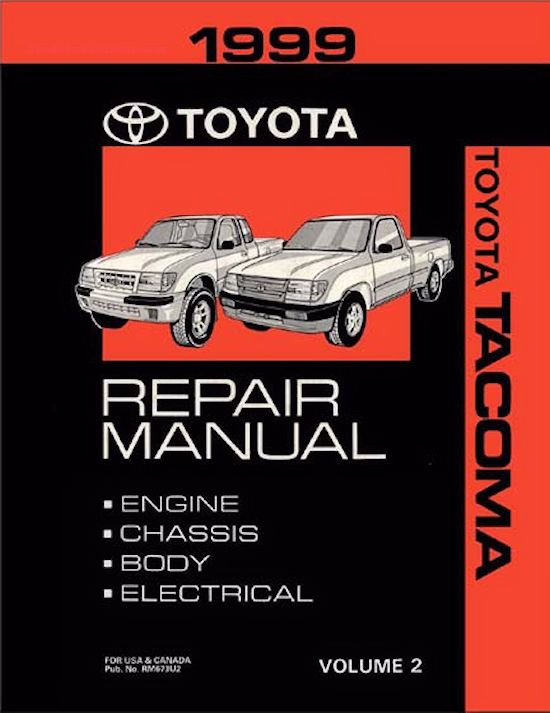 1999 Toyota Tacoma OEM Repair Manual