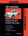 2000 Toyota Tacoma OEM Repair Manual