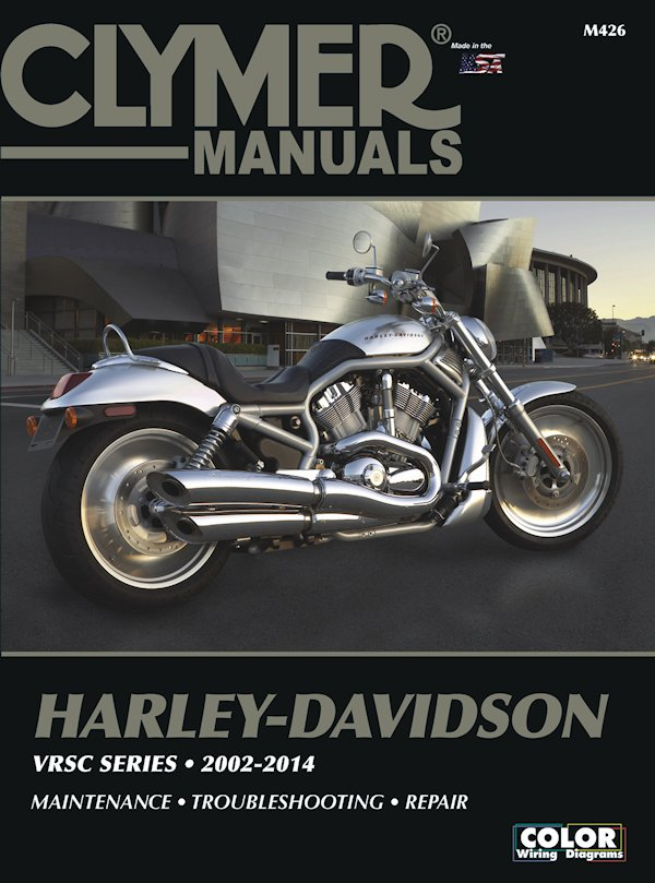 harley davidson vrsc series repair manual 2002 2014 rh themotorbookstore com v rod muscle wiring diagram 2008 v rod wiring diagram