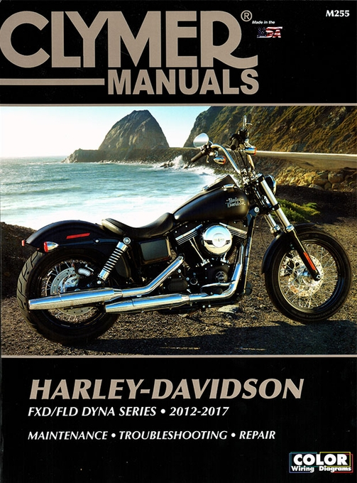 2012-2017 Harley-Davidson FXD/FLD Dyna Series Repair Manual on