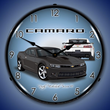 2014 SS Camaro Ashen Grey Wall Clock, Lighted