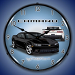 2014 SS Camaro Black Wall Clock, Lighted