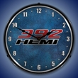 392 Hemi Wall Clock, LED Lighted