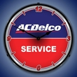 ACDelco Service Wall Clock, LED Lighted