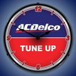 ACDelco Tune Up Wall Clock, LED Lighted