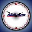 ACDelco (White) Wall Clock, LED Lighted