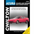 Acura Integra, Legend, Vigor, CL, TL, RL Repair Manual 1994-2000
