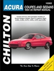 Acura Integra Legend Vigor Cl Tl Rl Repair Manual